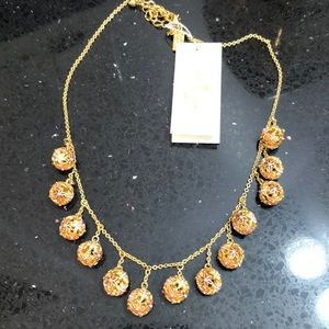 NWT Kate Spade Small Wallflower Necklace.